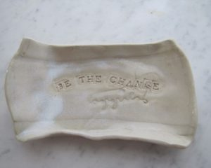 Be the Change Bowl, Ceramic